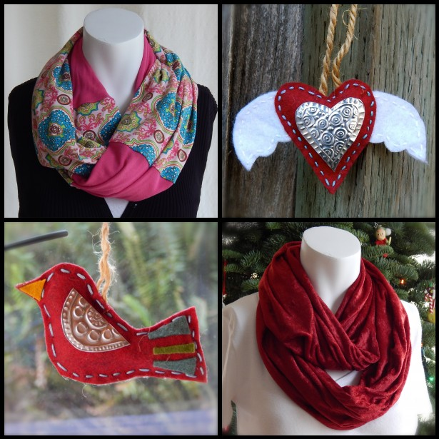 Scarves and Ornaments RED